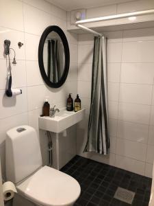 Kylpyhuone majoituspaikassa Stava Mosters