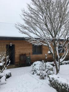 L'établissement B&B Les Hauts d'Ornans en hiver