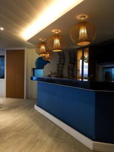 The lobby or reception area at 357 Boracay Resort