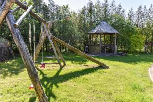Children's play area at Ramus poilsis Karklėje