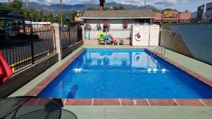 The swimming pool at or close to Circle S