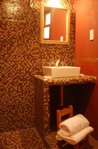 A bathroom at Miraluna Bodega Boutique