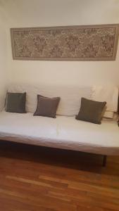 A seating area at Madesimo Centro