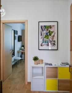 A kitchen or kitchenette at B&B Portafortuna Lucky charm