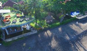 A bird's-eye view of Sunsethouse Lombok