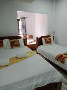 Cama o camas de una habitación en Chitlatda Central Bila House