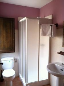 A bathroom at Posada el Mirador