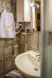 A bathroom at Ekosuites
