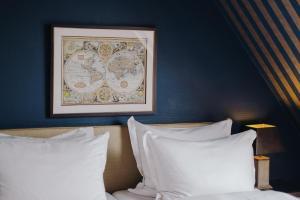 Ein Bett oder Betten in einem Zimmer der Unterkunft Hotel Stella Maris