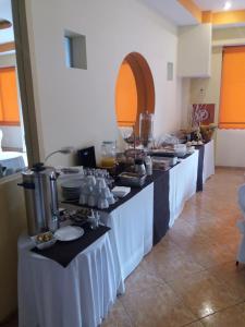 Εστιατόριο ή άλλο μέρος για φαγητό στο Hotel Drosia