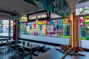 Restaurant ou autre lieu de restauration dans l'établissement Bettstatt-Neustadt