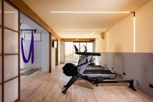 The fitness center and/or fitness facilities at Balos Beach