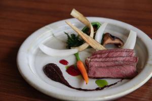 Eten bij of ergens in de buurt van de ryokan