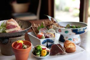 Ontbijt beschikbaar voor gasten van Shimizu Ryokan