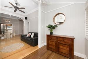 A seating area at Beautiful Queenslander
