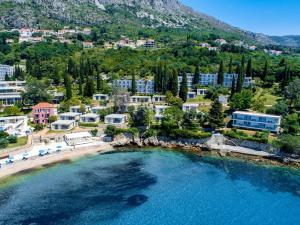 Vue panoramique sur l'établissement Villas and Apartments Mlini