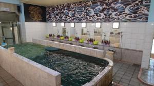 カプセルイン錦糸町にあるバスルーム