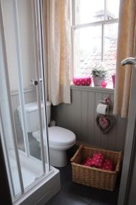 A bathroom at The Forester and Flower