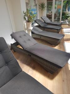 Ein Sitzbereich in der Unterkunft PRIMA Hotel Harzromantik