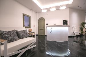 Χώρος καθιστικού στο Kallos Imar Hotel