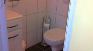 Een badkamer bij Gästehaus zum Moseltal
