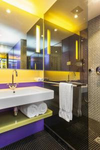 A bathroom at Radisson Collection Hotel, Royal Mile Edinburgh