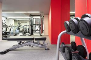 The fitness centre and/or fitness facilities at Radisson Collection Hotel, Royal Mile Edinburgh