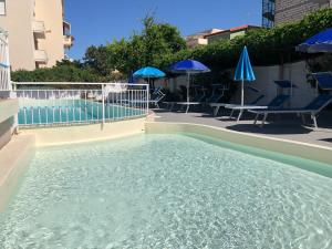 The swimming pool at or near Hotel Riviera