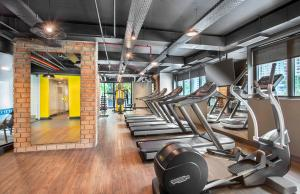 The fitness center and/or fitness facilities at Meliá Ibirapuera