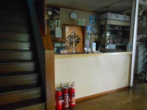 The lobby or reception area at Ryokan Matsushima