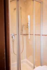 Een badkamer bij Boutique-Hotel Lohspeicher