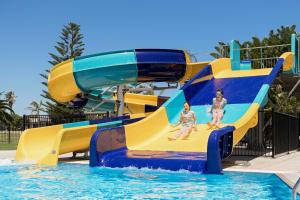 Aqua park at the holiday park or nearby