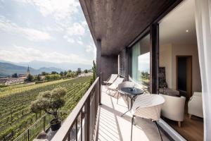 Ein Balkon oder eine Terrasse in der Unterkunft Felderer Boutiquehotel