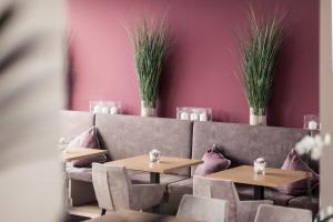 Ein Restaurant oder anderes Speiselokal in der Unterkunft Felderer Boutiquehotel