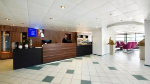 The lobby or reception area at Hestia Hotel Susi
