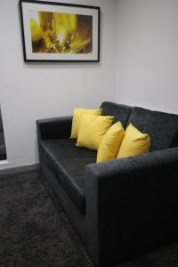 A seating area at Halifax House, Studio Apartment 215