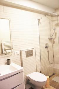 A bathroom at Apartmani Žužić