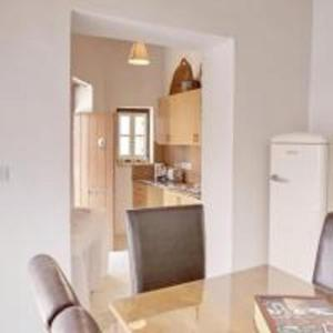 A kitchen or kitchenette at Lefkara View