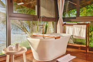 A bathroom at Melia Zanzibar