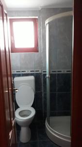 A bathroom at PENSIUNEA SIMONA ARIESENI