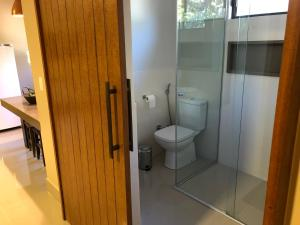 A bathroom at Casa do Lago
