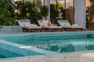 The swimming pool at or near Leonardo Plaza Cypria Maris Beach Hotel & Spa