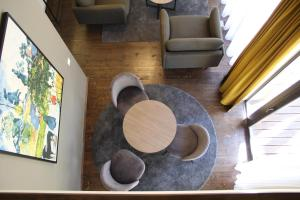 A seating area at Margis Hotel & SPA