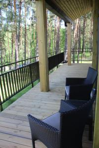 A balcony or terrace at Margis Hotel & SPA