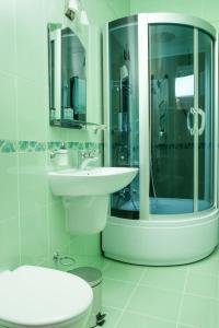 Ванная комната в Отель Фрегат