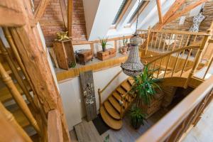 Ein Balkon oder eine Terrasse in der Unterkunft Landhaus Engel