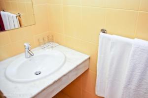 Łazienka w obiekcie Hotel Aros