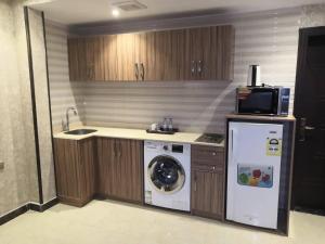 A cozinha ou cozinha compacta de Hotel Zayara