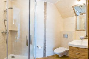 Łazienka w obiekcie Jaśmin