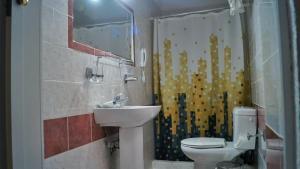 A bathroom at Liogerma